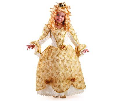"""Новогодние костюмы для детей """"Золушка золотая"""""""