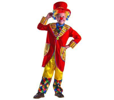 """Костюмы маскарадные для детей """"Клоун Франт красный"""""""
