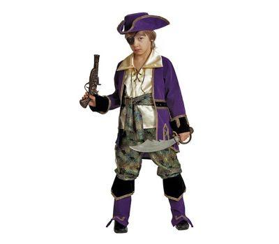 """Костюмы маскарадные для детей """"Капитан пиратов лиловый"""""""