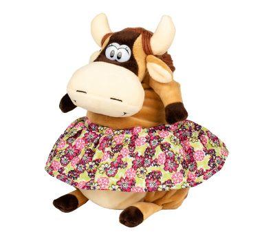 """Новогодняя упаковка 1200 г """"Корова в пестрой юбке"""""""