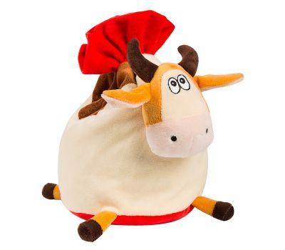 """Новогодняя упаковка 1500 г """"Корова-мешок с красным"""""""