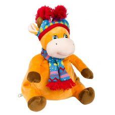 """Новогодний подарок  500 г """"Корова в лыжной шапочке"""""""