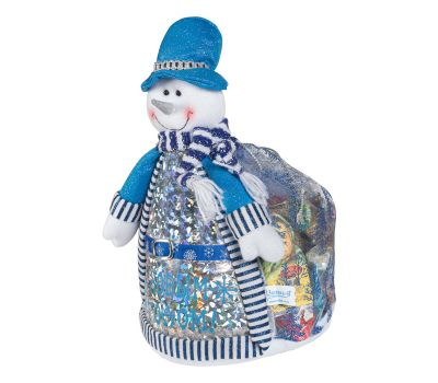 "Новогодний подарок 1500 г ""Снеговик в шляпе"""