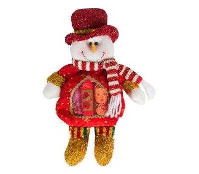 """Новогодняя упаковка  300 г """"Снеговик красный с сердечком"""""""