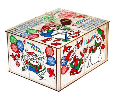 """Новогодний подарок  850 г """"Посылка от Деда Мороза"""""""