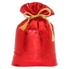"""Новогодний подарок  850 г """"Мешочек из парчи красный"""""""