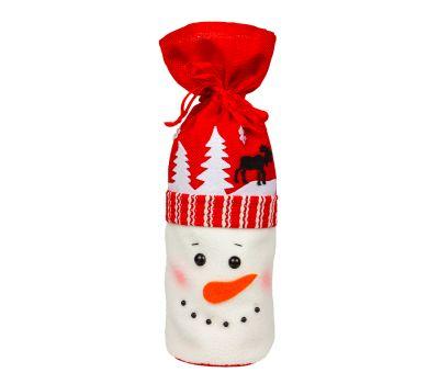 """Новогодняя упаковка  700 г """"Мешочек """"Снеговик"""""""