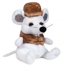 """Новогодняя упаковка - мягкая игрушка  500 г """"Мышь-модница"""""""