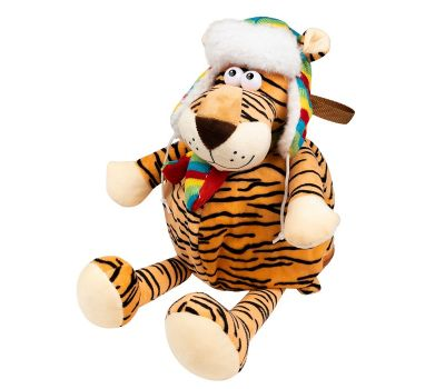 """Новогодний подарок 1200 г """"Тигр в шапке большой"""""""