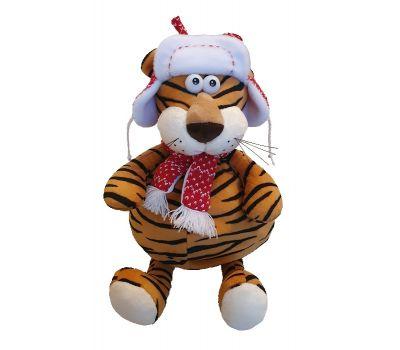 """Новогодняя упаковка 1500 г """"Тигр в красной шапке"""""""