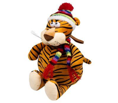"""Новогодний подарок 1200 г """"Тигр в лыжной шапочке большой"""""""