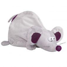 """Новогодняя упаковка - мягкая игрушка 1800 г """"Мышь серая"""""""