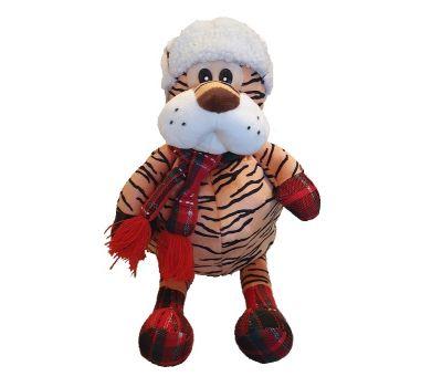 """Новогодняя упаковка 1500 г """"Тигр в шапке и варежках"""""""