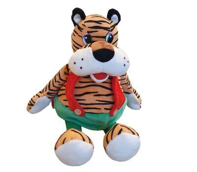 """Новогодний подарок 1200 г """"Тигр в зеленых штанах"""""""