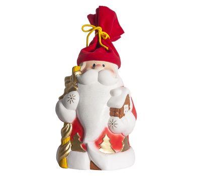 """Новогодняя упаковка из пластизоля """"Дед Мороз Сказочный (красный)"""""""