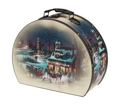 """Новогодняя упаковка 2850 г """"Сундучок """"Зимний вечер"""" средний"""""""